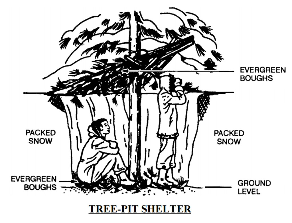 Winter Snow Shelters 4