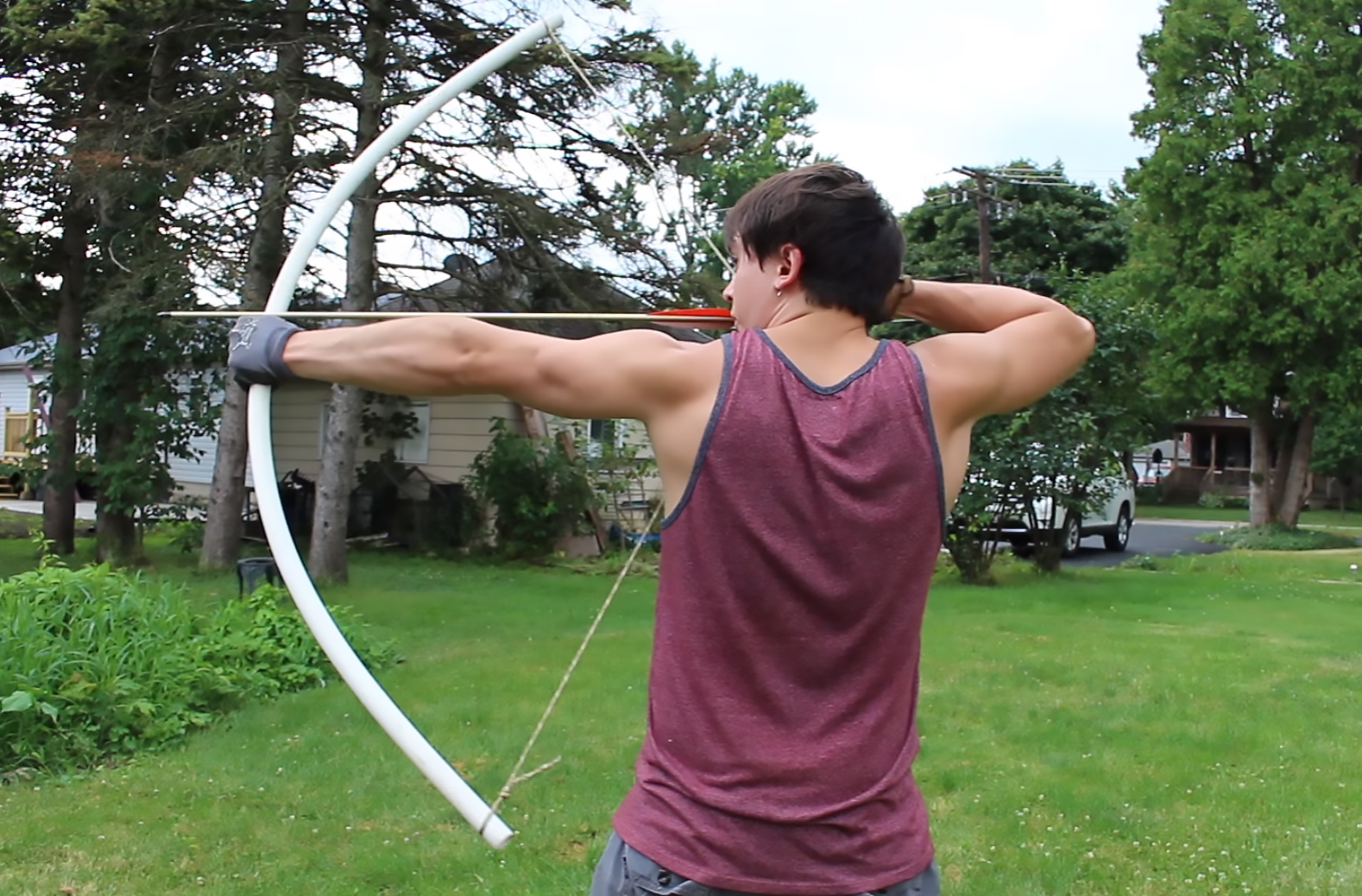 How To Make A Pvc Pipe Bow Recoil Offgrid